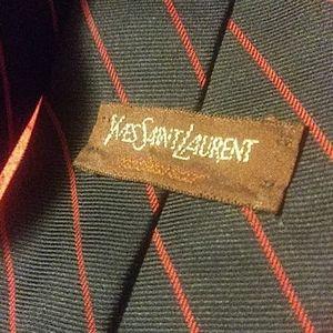 Vintage yves Saint Lauurent ysl tie neckwear